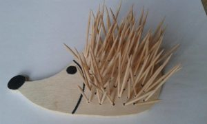 ježek - tvoření