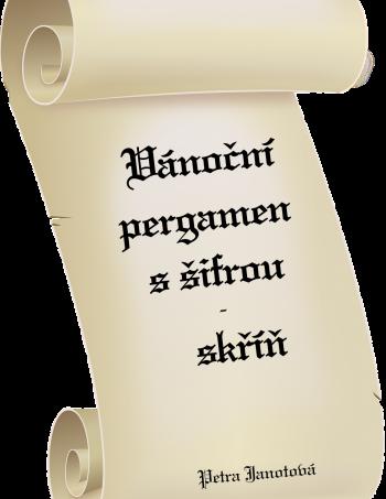Vánoční pergamen s šifrou - skříň