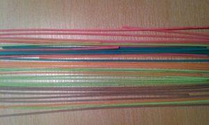 Barevné špagety