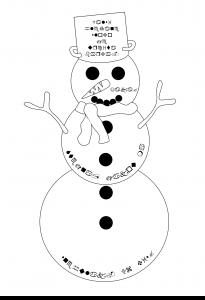 Sněhulák, Adventní kalendář s šifrou 2