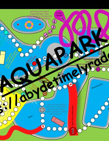 Aquapark - desková hra bez desky